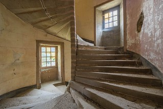 Medieval's stairs