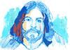 CAMBIOS (GARGABLE) Tags: angelbeltrán apuntes retrato drawings dibujos azul portrait gargable