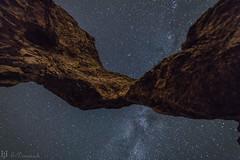 Arcos y galaxias (E.Domènech) Tags: galaxy stars milky way andromeda nocturnas