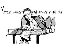 #sketch #draw #india #train #waiting #bnw #mumbai #wait #instaart #bw #sketchbook #indian #monochrome #doodle #railway #illustration #dailydrawing #dailysketch #drawingoftheday #draweveryday #girl #dailyart (lipuster) Tags: childhood life kids india innocence stories art illustration sketch drawing