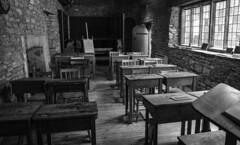 Victorian Classroom (Stuart.67) Tags: poole dorset england medieval class room grade1 listed building victorian blackwhite nikon d800