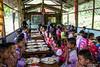 Prayers before Lunch 6182 (Ursula in Aus) Tags: banhuaymaegok banhuaymaegokschool hilltribeeducationprojects maehongson maesariang thep thailand