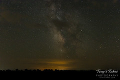 The Milky Way - unfortunately with a few clouds too