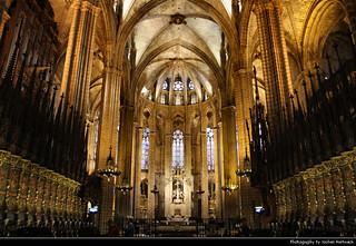 Catedral de Barcelona, Barcelona, Spain