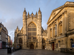 Bath Abbey (Matthew_Hartley) Tags: bath abbey somerset england uk britain panasonic gm1 microfourthirds m43 mft vario 1232 1232mm