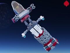 Kawashita Amaryllis (Umbra-Manis) Tags: space spaceship kawashita ag andromeda starfighter scifi moc mecabricks digital