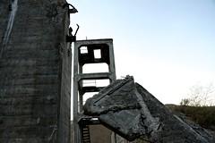 Stones at Dusk (LookSharpImages) Tags: lime oregon limeoregon abandoned abandonedspaces