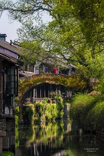 Fengjing Ancient Town, Shanghai, China  (吴越古镇枫泾)