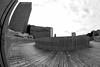 Rotterdam 05-08-201711-11 (Pure Natural Ingredients) Tags: rotterdam rotjeknor nederland thenetherlands fisheye 010 samyang 8mm blackandwhite zwart wit architecture holland nationalenederlanden marriot hotel