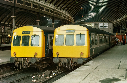 Class 101s - Newcastle Central Station - January 1985