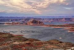 Lake Powell, Page Arizona (PhotosToArtByMike) Tags: lakepowell pagearizona arizona az reservoir lake glencanyondam coloradoriver utah coloradorivergorge canyon glencanyonnationalrecreationarea wahweapoverlook