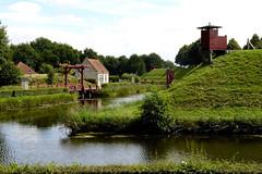 Bourtange (FreerkZ) Tags: villagefortifié vesting bourtange groningen grens vlagtwedde fort sentrybox