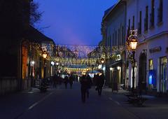 christmas twilight (sunsetsára) Tags: christmas light lights holiday fair eger hungary hun magyarország magyar street