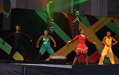 Action From the National Arena Festival Village