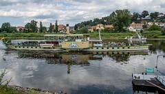 Raddampfer Stadt Wehlen (krieger_horst) Tags: schiff raddampfer sachsen pirna