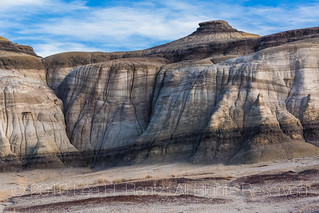 Eroded Layers in the Bisti Badlands