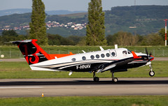 Beechcraft 250 King Air F-HNAV DGAV/DSNA (William Musculus) Tags: basel mulhouse freiburg airport aéroport euroairport lfsb eap bsl mlh