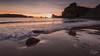 Puesta de Sol en Portio (Raul Piki Bolukua) Tags: puestadesol dawn sunset sol beach playa water agua mar sea costa océano atarecer landscape nature paisaje colors cantabria liencres nikond3200 sigma1020 longexposure
