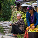 The elderly people in the village of Nalma, Lamjung, Nepal.
