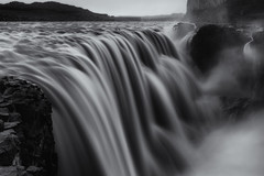 The Power of Nature (Andrew G Robertson) Tags: iceland waterfall dettifoss vatnajökull vatnajokull national park monochrome prometheus spray water black white long exposure canon 5d mkiv mk4