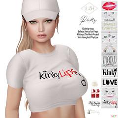 LUSH_Pretty_10tops (Kayshla Aristocrat) Tags: twelve events exclusive twe12ve 12 ebp sl secondlife lush lushposes kayshlaaristocrat designer fatpack tops shirts