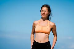 Laura (lonerasser) Tags: laura yoga strand hav sommer rågeleje bowspring