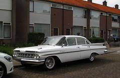 1959 Chevrolet Bel Air 3.9 (rvandermaar) Tags: 1959 chevrolet bel air chevroletbelair 39 belair sidecode1 import ar0447 chevy