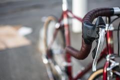 Bianchi EROS (adrianonymous) Tags: bianchi bicycle bicycles bike bici bicycling bicyclist italian salsa cinelli brooks derailleur sacramento sac campagnolo campy