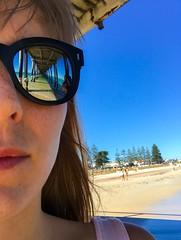 Into the deep (doubleshotblog) Tags: henleybeachjetty australia depth behindblueeyes eternal doubleshotblog doubleshot sunglasses reflection glassesselfie selfie summer beach henleybeach jetty southaustralia adelaide intothedeep