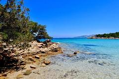 Le Piscine beach, Palau, Sardinia, Italy. (Massimo Virgilio - Metapolitica) Tags: trees sky beach sea summer sun nature italy sardinia palau lepiscine
