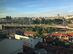 Belgrade seen from Radisson SAS old mill!