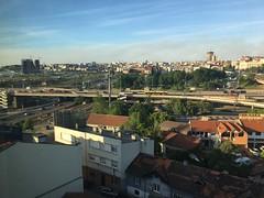 Belgrade seen from Radisson SAS old mill!