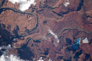 Potash ponds in Utah