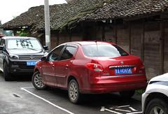 Peugeot 207 sedan (rvandermaar) Tags: peugeot 207 peugeot207 206 peugeot206 gaozeng china guizhou