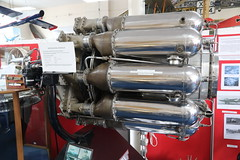 Whittle engine (roger_forster) Tags: whittle jet engine fast farnborough air services trust hampshire museum display artefact rae trenchard technology flight flying research