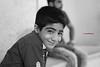 A young Iranian enjoys the show in the zurkhaneh (Manuel Beusch) Tags: zurkhaneh esfahan iran iranian boy monochrome