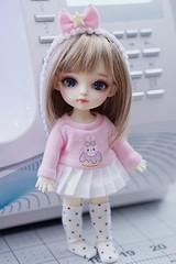 Lati Yellow Lulu (Cyristine) Tags: bjd clothing doll lati yellow latidoll handmade sewing pastel kawaii toy