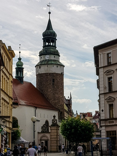Jelenia Góra, St. Anne Chapel and Wojanowska Gate, part of the medieval defense complex