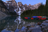 Moraine Lake (beyondboundariesphotography) Tags: nature landscapes reflection banffnationalpark alberta sunrise canada roadtrip travel landscape morainelake