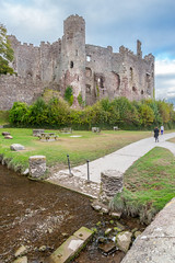 Laugharne Castle, Carmarthenshire. Wales. UK (2.5 mil views - Thank you all.) Tags: staneastwood stanleyeastwood laugharne carmarthenshire wales castle stonewall tower stone bridge