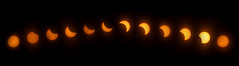 Solar Eclipse (haleycollinsdesign) Tags: eclipse solar solareclipse sun space astronomy nature sunset beautiful timelapse time interesting weird star moon