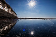 Reflections in a pool. (@bill_11) Tags: isleofthanet ramsgate england kent places