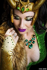 Lady Loki Goes Glam... (Ring of Fire Hot Sauce 1) Tags: cosplay ladyloki gogoincognito sandiegocomiccon portrait glamour