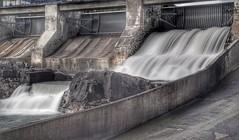 Waterstream (...Ola_S...) Tags: norge oppland hunderfossen waterstream nikond7000 slowshutter longexposure