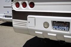 USA.WASHINGTON (CooverInAus) Tags: number plate license yosemite motorhome camper washingtom germany