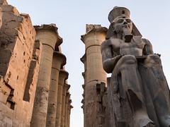 Estatua de Ramsés II, Templo de Amón, Luxor, Egipto