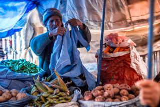 Old Lady in Potosí's Mines Market (3)