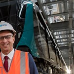 Minister introduces Sydney's first metro train thumbnail
