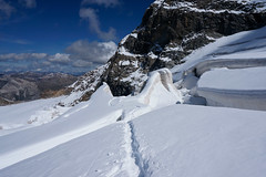 _DSC3188 (farix.) Tags: alpen alps alpy schweiz switzerland szwajcaria trekking treking grat grań piz palu bernina berninagruppe gletscher lodowiec śnieg snow schnee