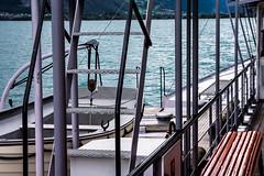 17-09-07 CH see beiboot trepp dsc08368 (u ki11 ulrich kracke) Tags: bank beiboot ch dampfschiff diagonale leiter panorama stillleben treppe vertikale vierwaldstättersee